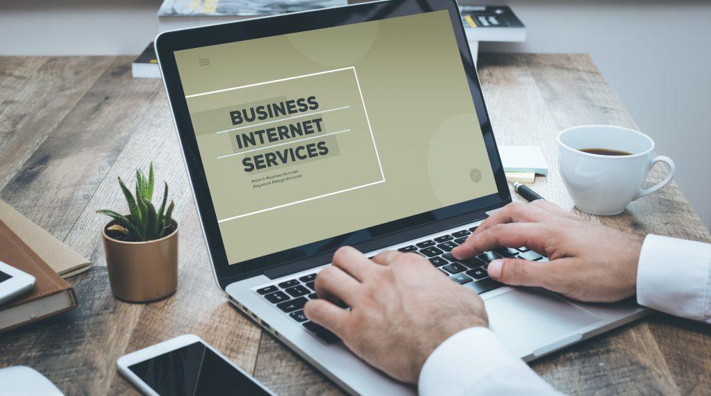 BUSINESS INTERNET SERVICES CONCEPT