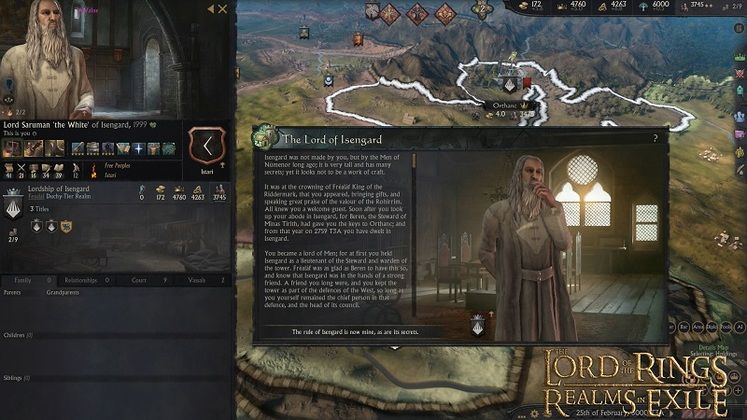 Crusader Kings 3's Realms in Exile Lord of the Rings Mod