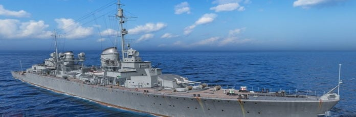 World of Warships introduces a mode with super battleships for PC, adds new American battleships to console