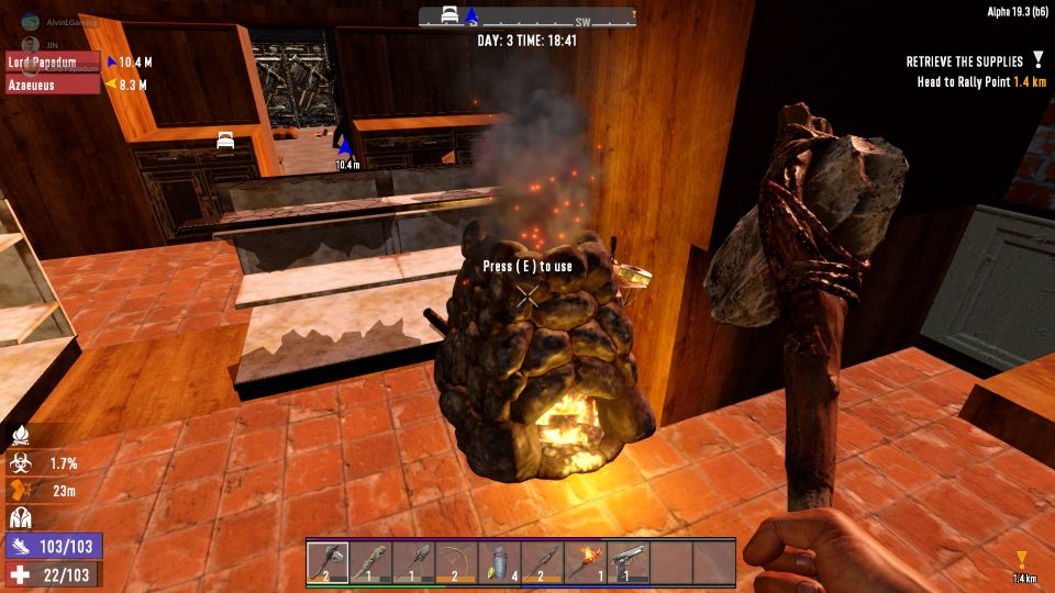 7 Days To Die: How To Make Forged Iron In The Game
