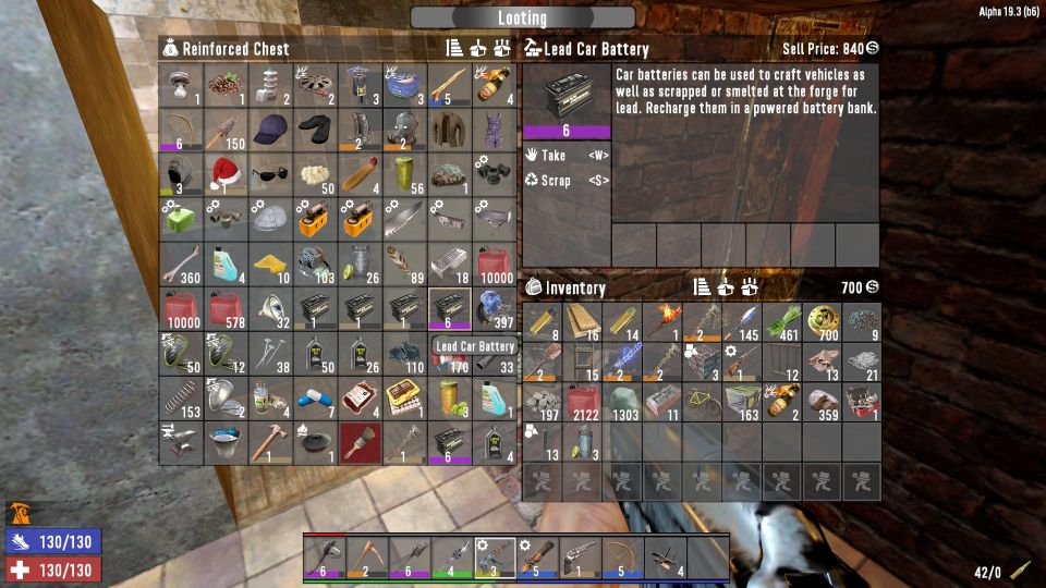 7 Days To Die: How To Get Or Make Lead Car Battery