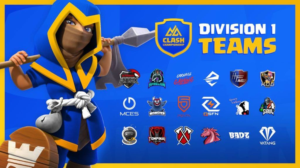MCES overthrow Monster as Northern Arena Clash of Clans Championship heats up