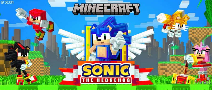 Sonic the Hedgehog DLC for Minecraft Now Available