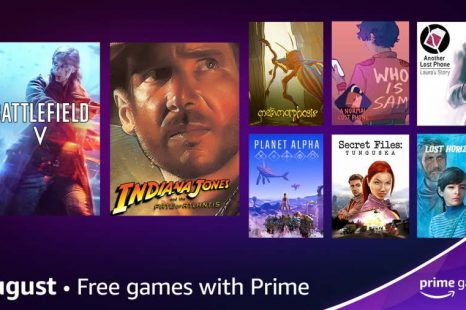 Prime Gaming August 2021 Offerings Revealed
