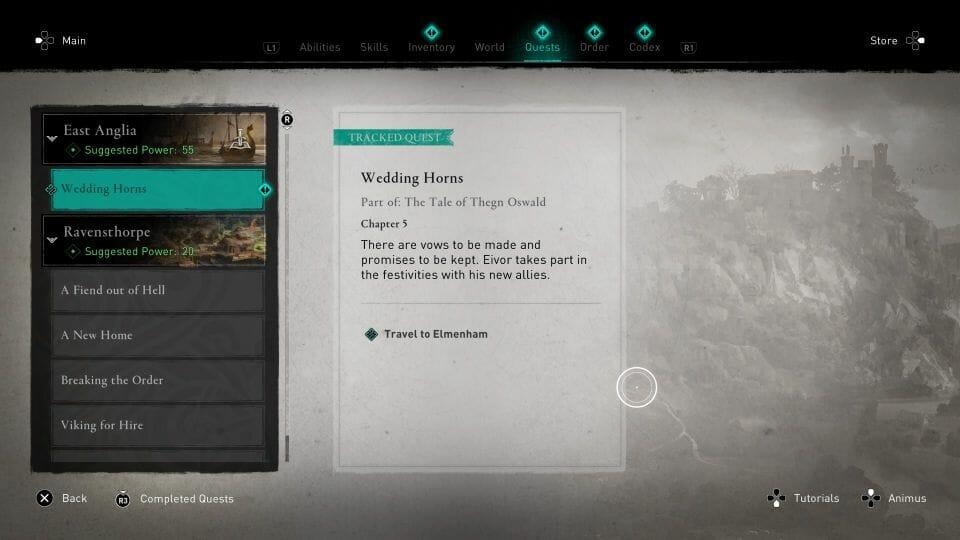 Assassin's Creed Valhalla: Wedding Horns Walkthrough