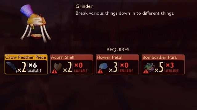 Grounded Grinder