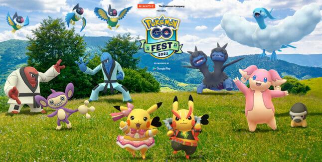 Pokemon Go Fest 2021 Dates, Times, Ticket Price, Rewards, Shinies, Spawns & More
