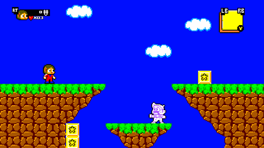 Review – Alex Kidd in Miracle World DX