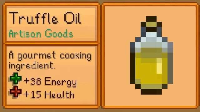 How to get Truffle Oil in Stardew Valley