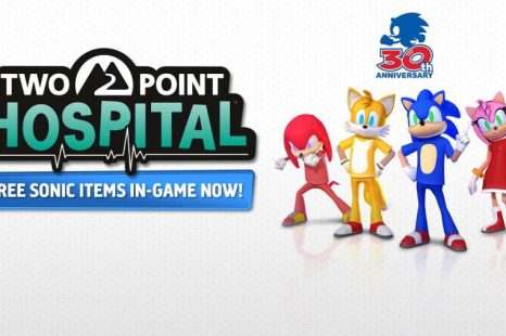 Two Point Hospital Getting Sonic Crossover