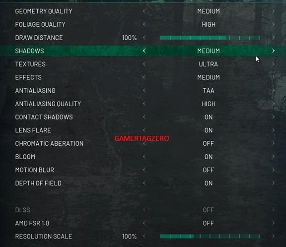 Chernobylite Best PC settings gametagzero