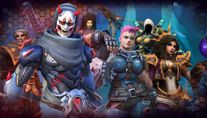 Heroes of The Storm Characters