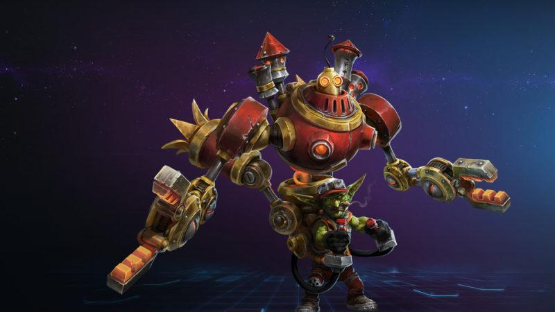 Heroes of The Storm Gazlowe
