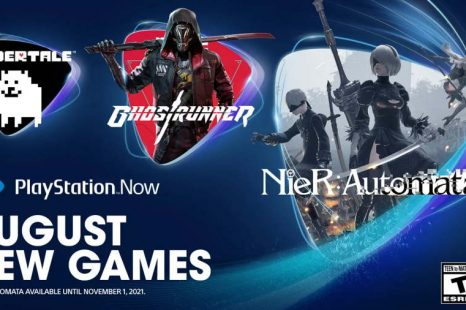PlayStation Now August 2021 Games Unveiled