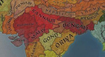 Crusader Kings 3's Update 1.5 Adds the Carantanian Culture, India Map Tweaks