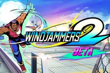 Windjammers 2 Open Beta Beginning Tomorrow