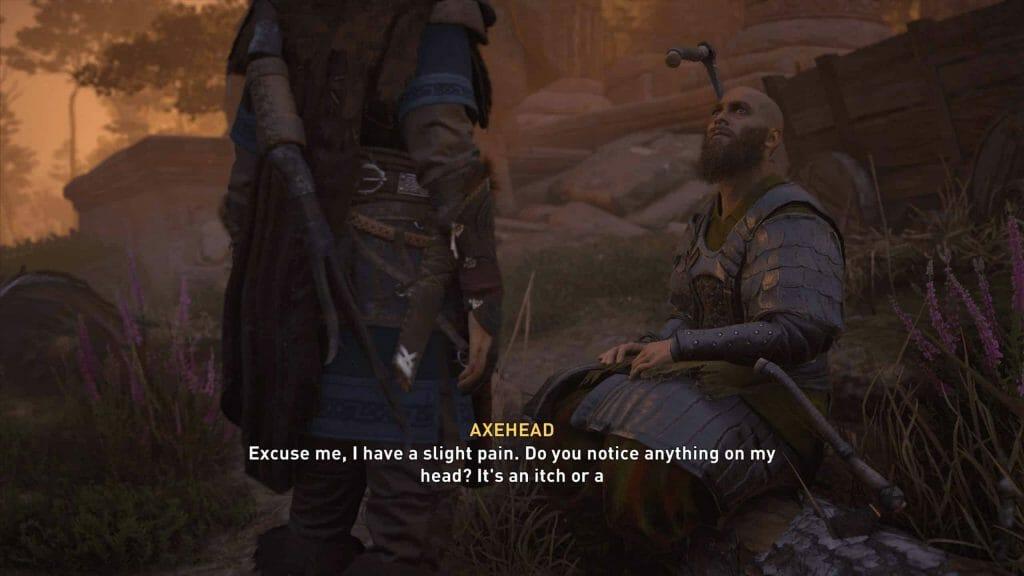 Assassins Creed Axe Head